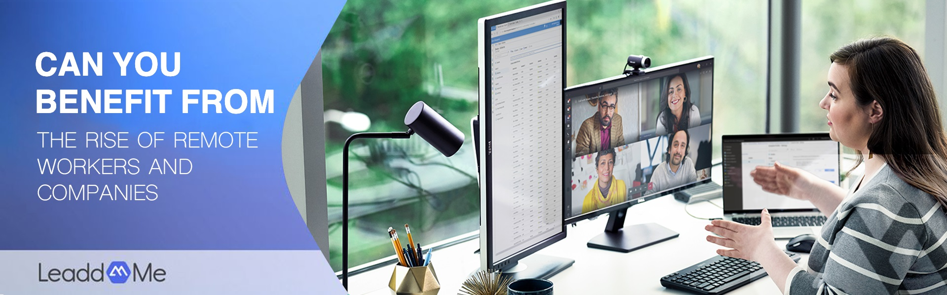 Can you benefit from the rise of remote workers and companies?